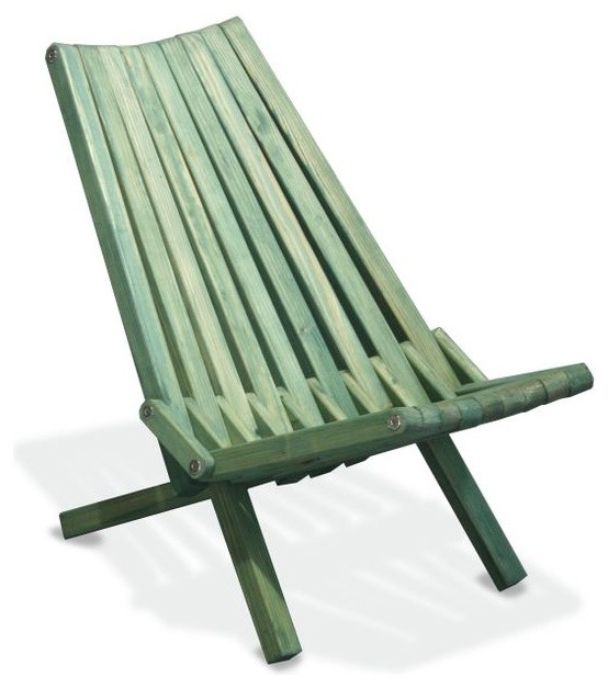 Chair X36 Alligator Green Modern Folding Garden Chairs By GloDea