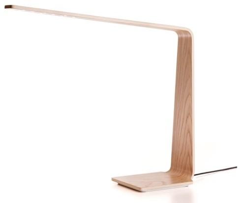 lampe led 4 bois scandinavo lampade da tavolo di le studio des collections. Black Bedroom Furniture Sets. Home Design Ideas