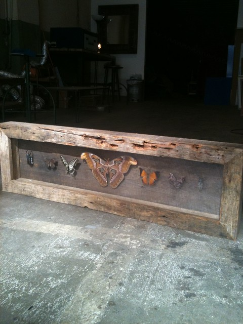 Reclaimed Wood Frames Traditional Furniture los