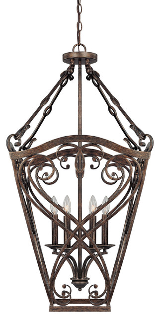 Capital Lighting 9362rt Reserve 4 Light Foyer Fixture