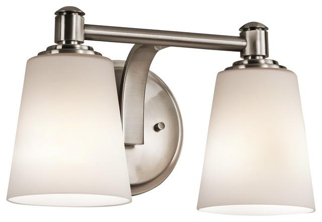 Transitional Bathroom Vanity Lights : Kichler Lighting Quincy Transitional X-PLC45454 - Transitional - Bathroom Vanity Lighting - by ...