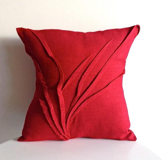 grass texture pillow - Modern - Decorative Pillows - by carol gilbert . yorktown road