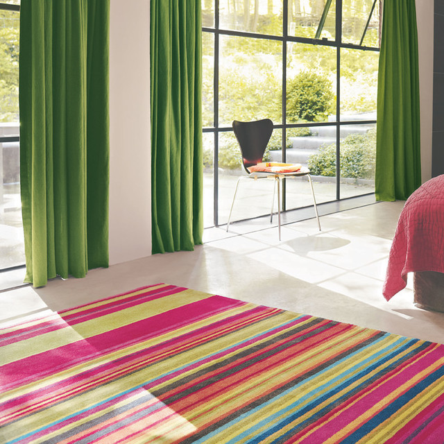 fresh rugs in pink modern bedroom manchester by
