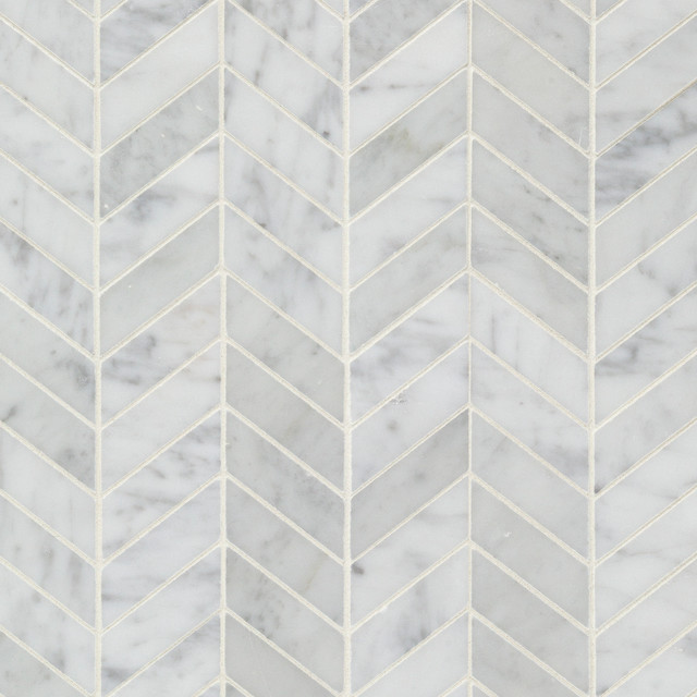 Chevron Wall And Floor Tile New York By Artistic Tile