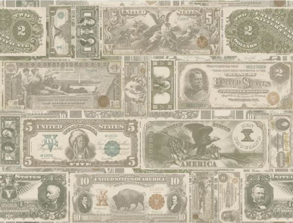 American classics money wallpaper modern wallpaper for Modern american classics