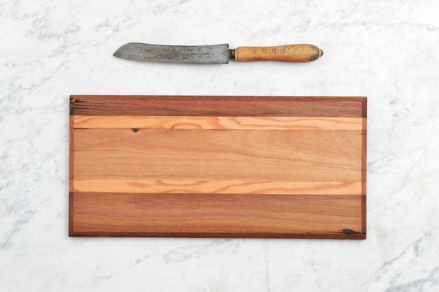 Repurposed Timber Homewares Contemporary Cutting