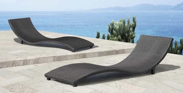 sydney lounge chair by zuo modern moderne transat et chaise longue ext rieure. Black Bedroom Furniture Sets. Home Design Ideas
