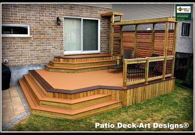 Patio Deck Art Designs Outdoor Living Contemporary