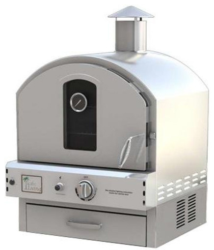 Countertop Pizza Oven Outdoor : Living Countertop Gas Pizza Oven - Contemporary - Outdoor Pizza Ovens ...