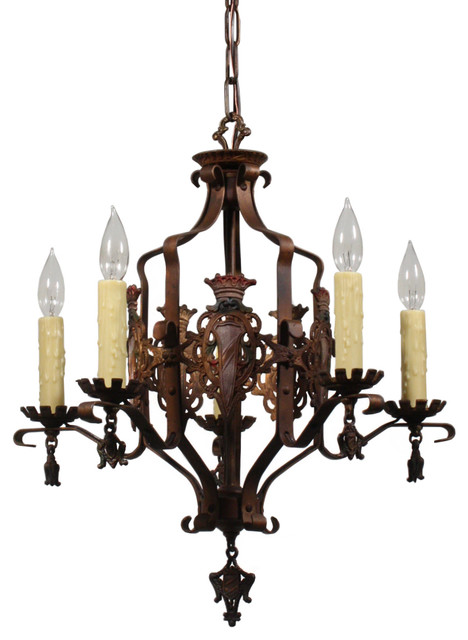 Antique spanish revival lighting traditional for Spanish revival lighting