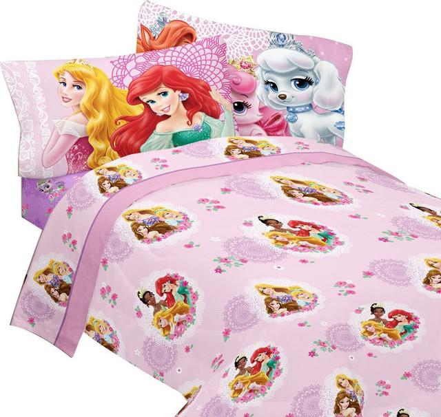 Disney Princess Full Bed Sheet Set Palace Pets Bedding ...