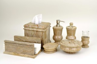 Marble bathroom accessories collection traditional for Marble bathroom accessories uk
