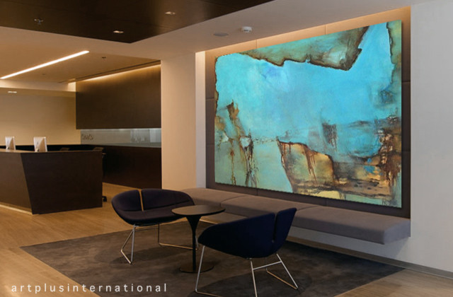 Artwork for office corporate for Houzz corporate office