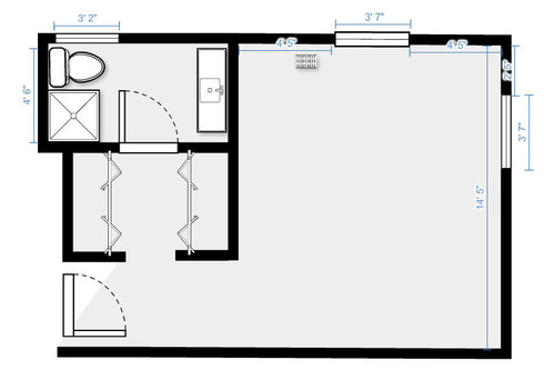 Need Help With Master Bedroom Bathroom Bedroom Layout 1970s House