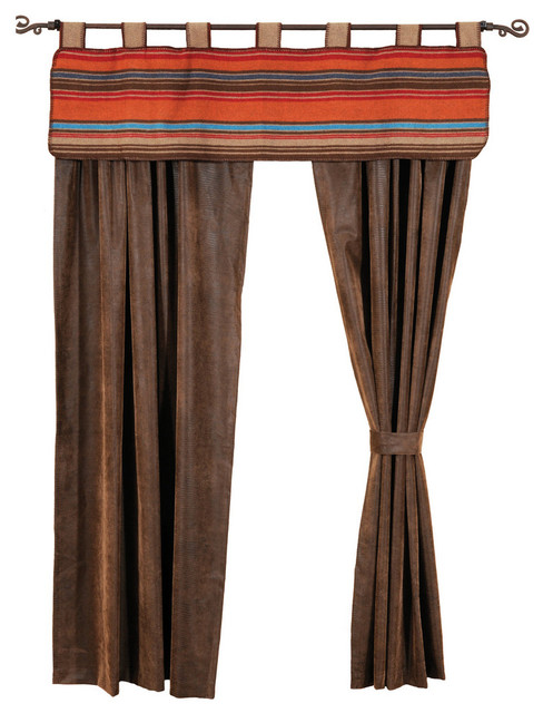 Tombstone Drape Panel Southwestern Curtains By Wooded River Inc