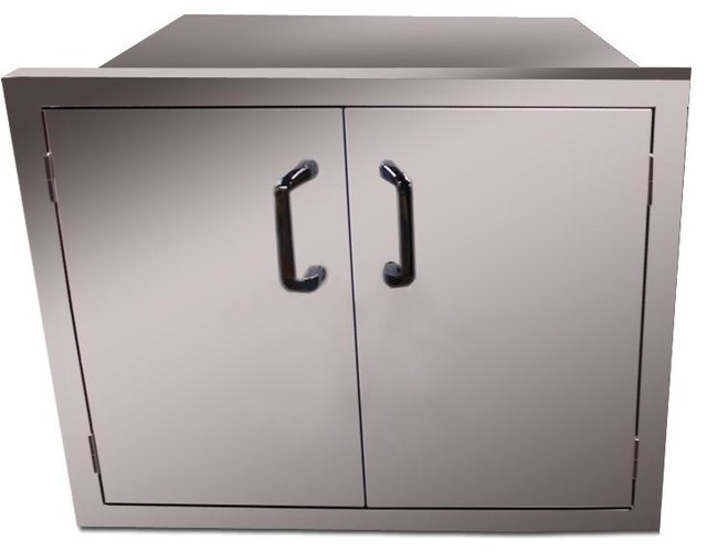 Vintage 30 Inch Sealed Pantry Enclosed Cabinet Storage