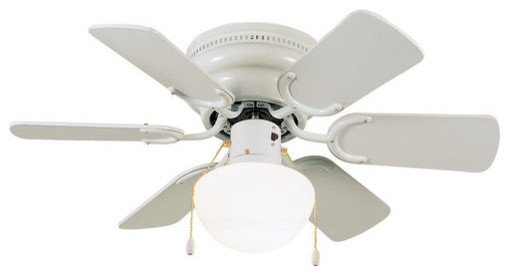 Design House 152991 30 6 Blade Hugger Ceiling Fan From