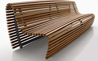 B B Italia Titikaka Outdoor Bench Contemporary Garden Benches By Ch