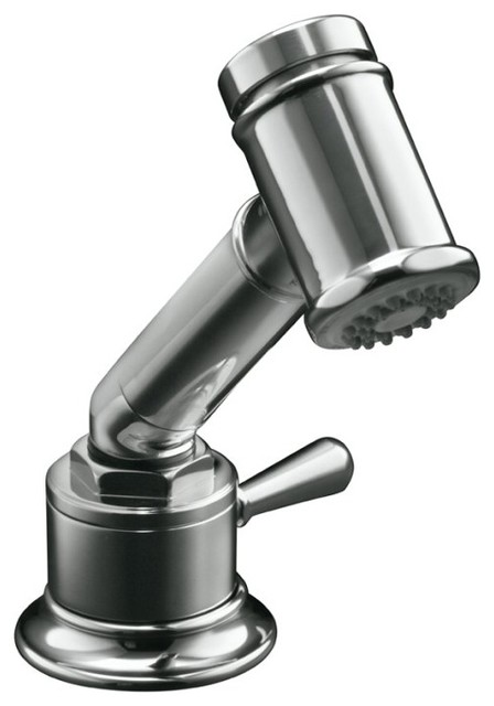 ... Independent Sidespray with Valve contemporary-kitchen-sink-accessories