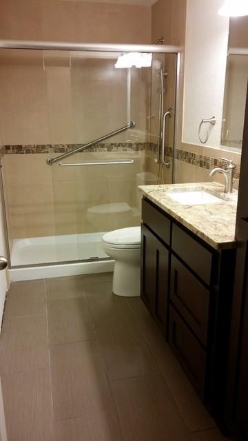 Hall Bathroom Remodel Marysville WA Traditional