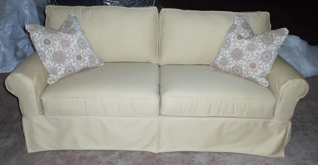 Rowe Slipcovered Sofa Rowe Addison Sofa With Slipcover