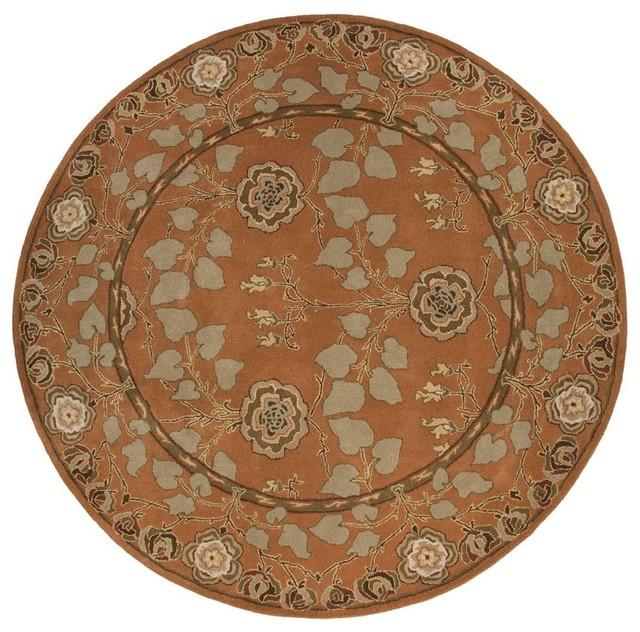 Jaipur Rugs Hand-Tufted Arts And Craft Wool Orange/Green