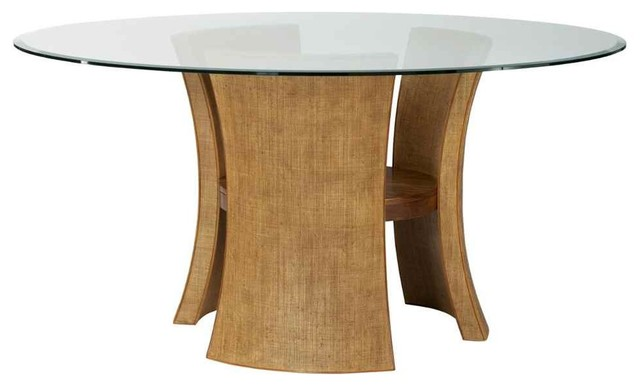 Round modern pedestal table contemporary dining tables by