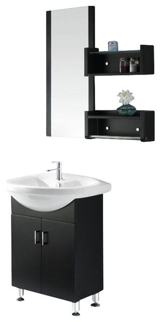 26 Inch Single Sink Bathroom Vanity Contemporary Bathroom Vanities And Sink Consoles By