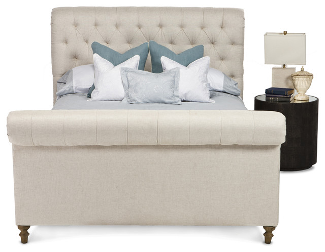 French Empire Bed Traditional Beds By Coco Republic
