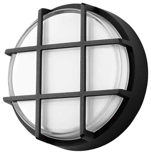 Led ceiling and wall luminaire graphite small for Luminaire outdoor design
