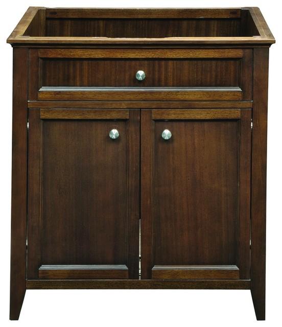 Decolav 5232 mmg jordan modular vanity in mahogany - Manufactured home bathroom vanity ...