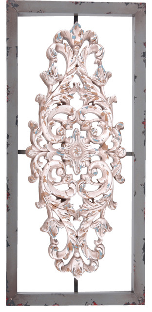 Metal And Resin Framed Wall Decor Traditional Wall