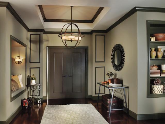 Decorative lighting modern pendant lighting - Modern foyer lighting ideas ...