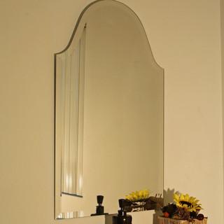 regency bristol frameless mirror modern home decor. Black Bedroom Furniture Sets. Home Design Ideas