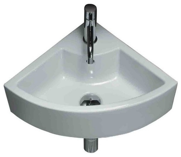 Above Counter Vessel Sink : American Imaginations AI-13-367 Above Counter Vessel Sink, White, 19 ...