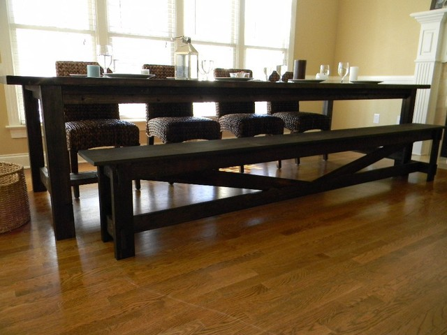 Farmhouse Dining Table Farmhouse Dining Tables Raleigh by Cecil Mack