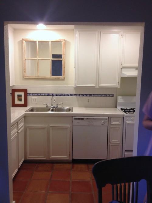 Need help weird kitchen layout for Kitchen design help