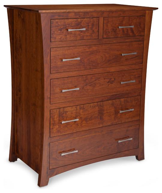 Loft 6 drawer chest moderno c modas y cajoneras - Comodas y cajoneras ...
