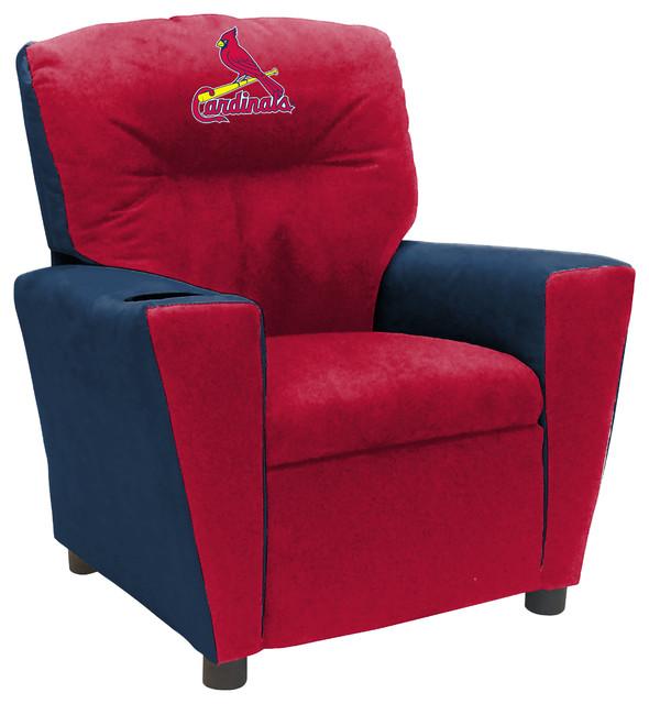 St Louis Cardinals Fan Favorite Tween Recliner
