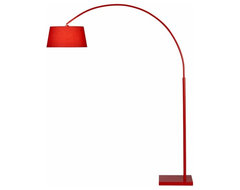 Lantern arc floor lamp cb2 modern floor lamps by cb2 for Cb2 orange floor lamp