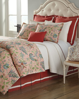 queen floral duvet cover 90 x 96 coral queen contemporary duvet covers sets by horchow. Black Bedroom Furniture Sets. Home Design Ideas