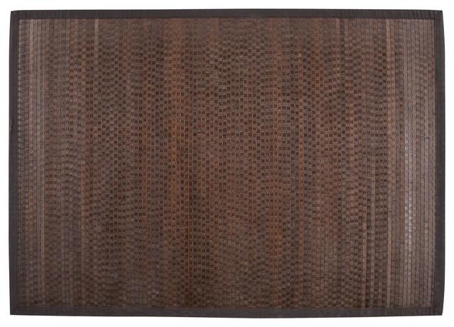 Banjo tapis en bambou 140x200cm tropical area rugs by alin a mobilier - Tapis bambou 120x180 ...