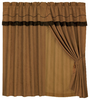 Embroidered Barbwire Curtain Southwestern Curtains By Hiend Accents