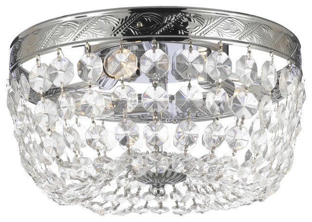 Leonore Empire Chandelier With Swarovski Crystal Traditional Chandeliers By Gallery