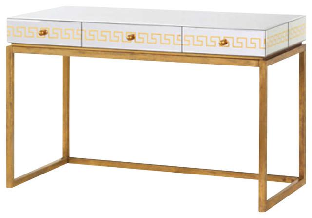 Bungalow 5 donatella desk console mediterranean desks for Bungalow 5 desk