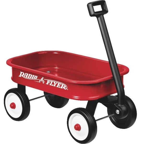 Wagons For Toys : Radio flyer little red toy wagon traditional kids toys