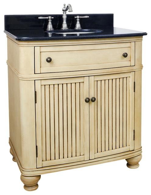 32 Wide MDF Vanity VAN028 T Bathroom Vanities And Sink Consoles By
