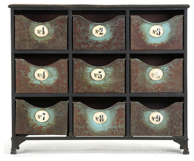 Doriane Cabinet - Farmhouse - Accent Chests And Cabinets - other metro ...