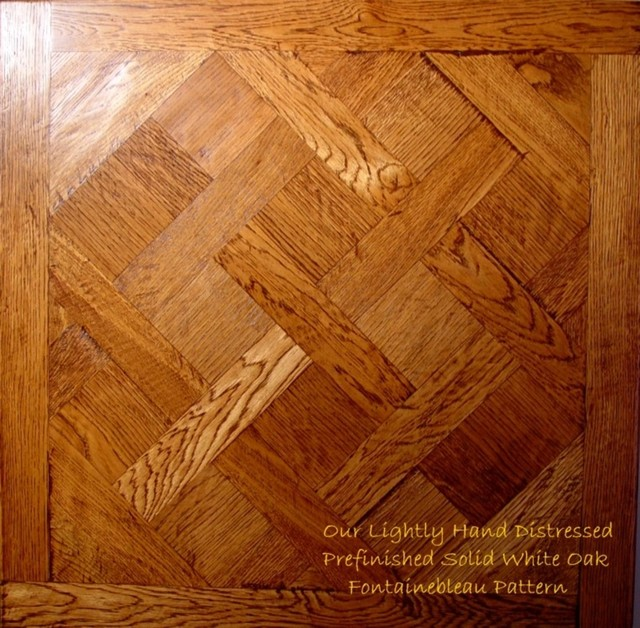 Fontainebleau Pattern Traditional Hardwood Flooring Sacramento By Sel