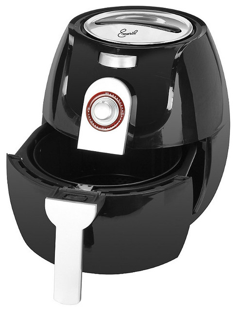 Emeril chef 39 s classic air fryer contemporary espresso Modern home air fryer
